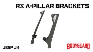 Jeep JK A-Pillar Brackets (pair)