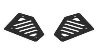 A2 Rear Bumper Replacement Corner Step Pads