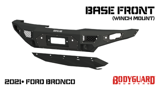 Freedom Series - Bronco Base Front Bumper