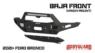 Bronco Baja Front (winch mount)
