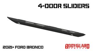 Bronco 4 Door Sliders