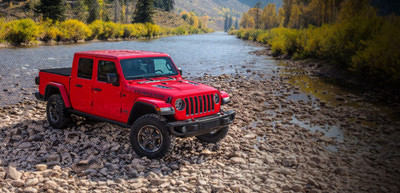 More than 2,500 Jeep Gladiators delivered in May 2019