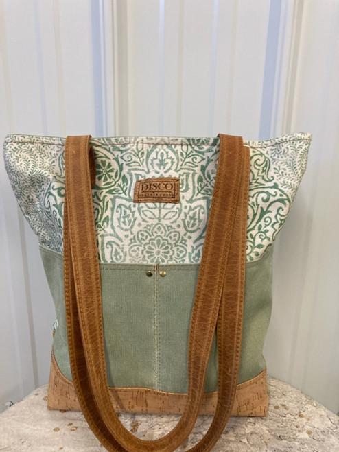 Disco Leather Tote Bag - The Barbara