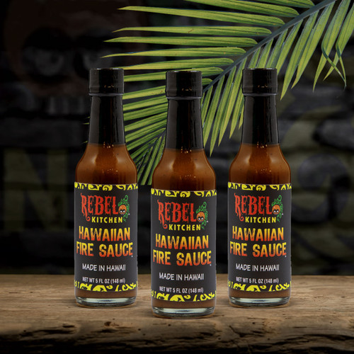 Hawaiian fire sauce 3 pack