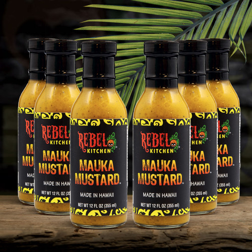 6 pack Mauka Mustard