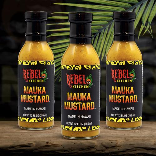 Mauka Mustard 3 pack