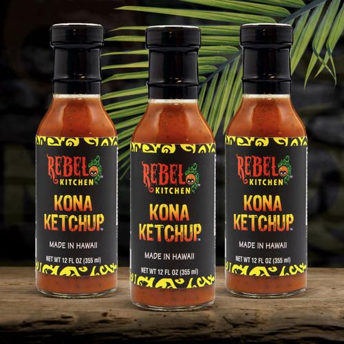 3 Pack of Kona Ketchup
