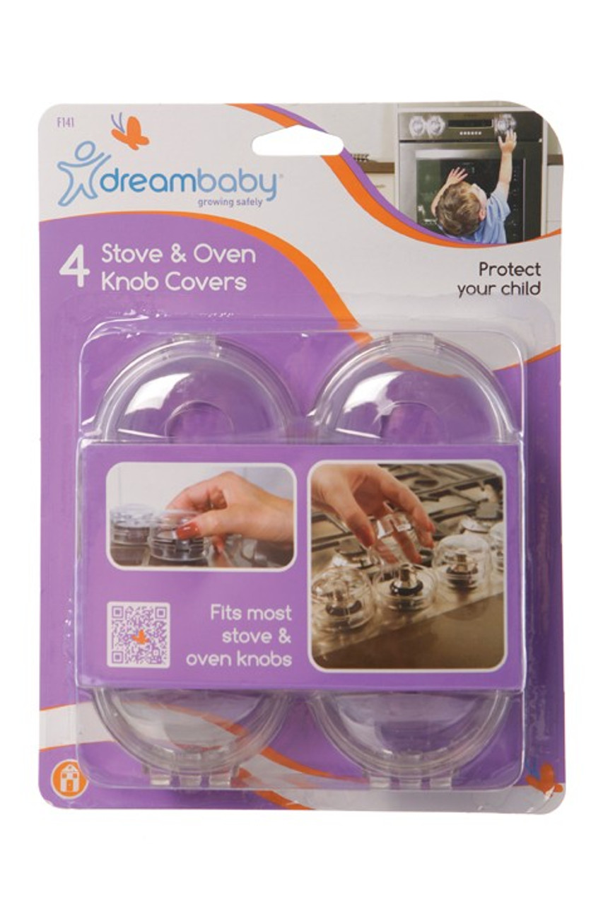 Dreambaby - Stove and Oven Knob Covers 4 Pack