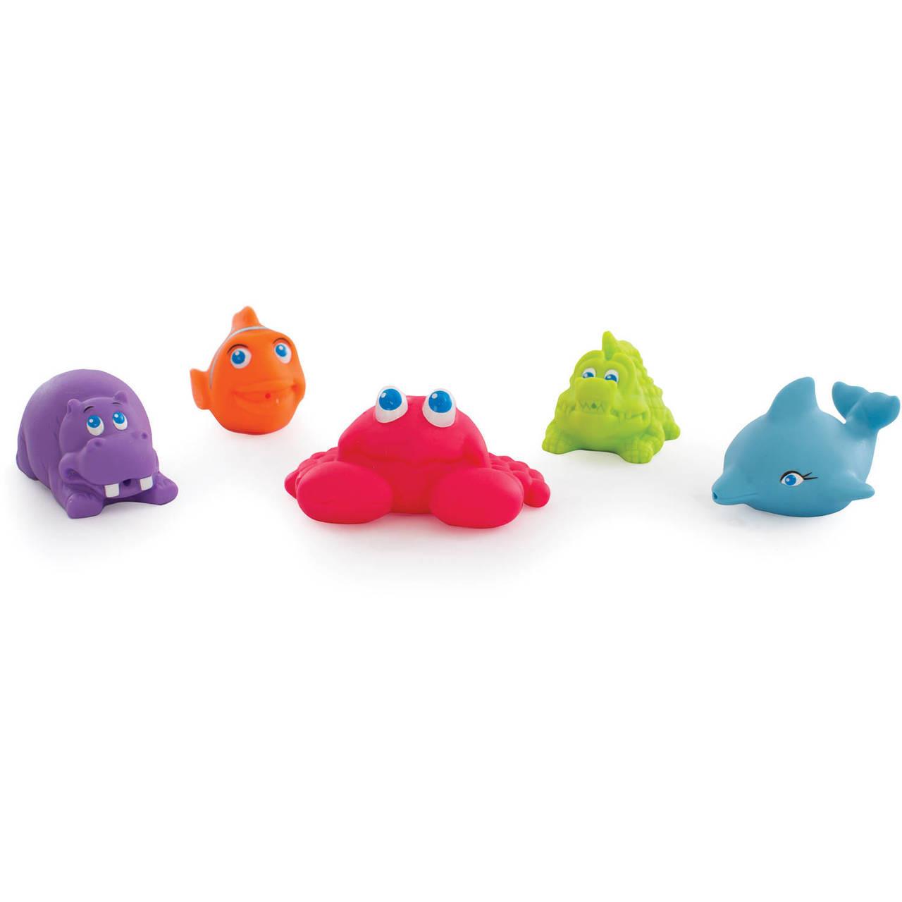 Playgro Under the Sea Squirtees 5pcs Bath Toy