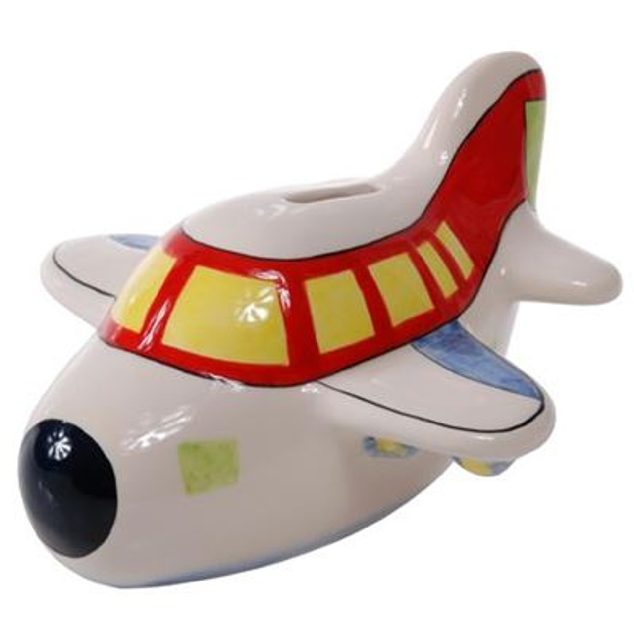 Kennedy the Aeroplane ceramic money bank