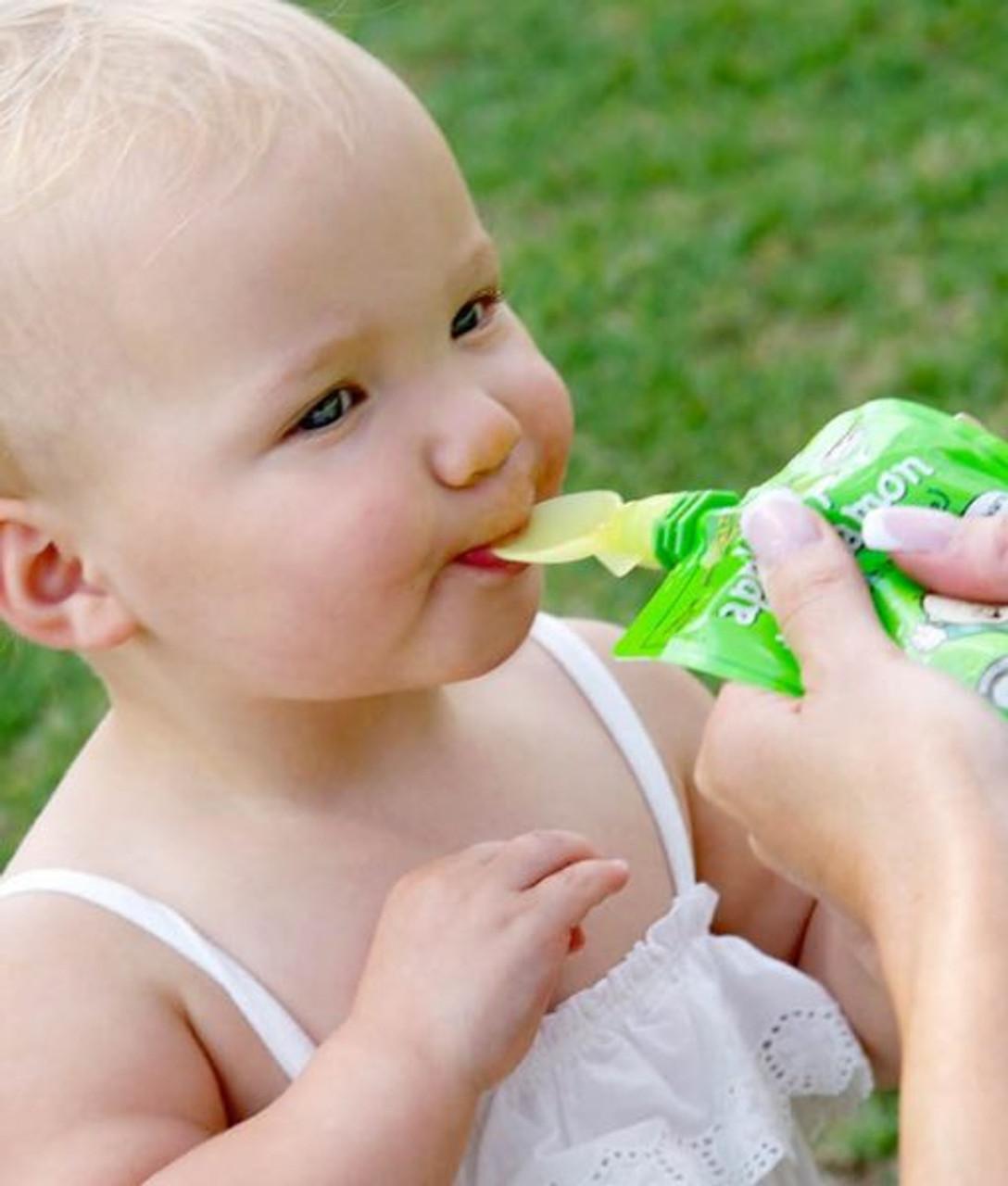 Cherub Baby Food Pouch Spoons 2pk