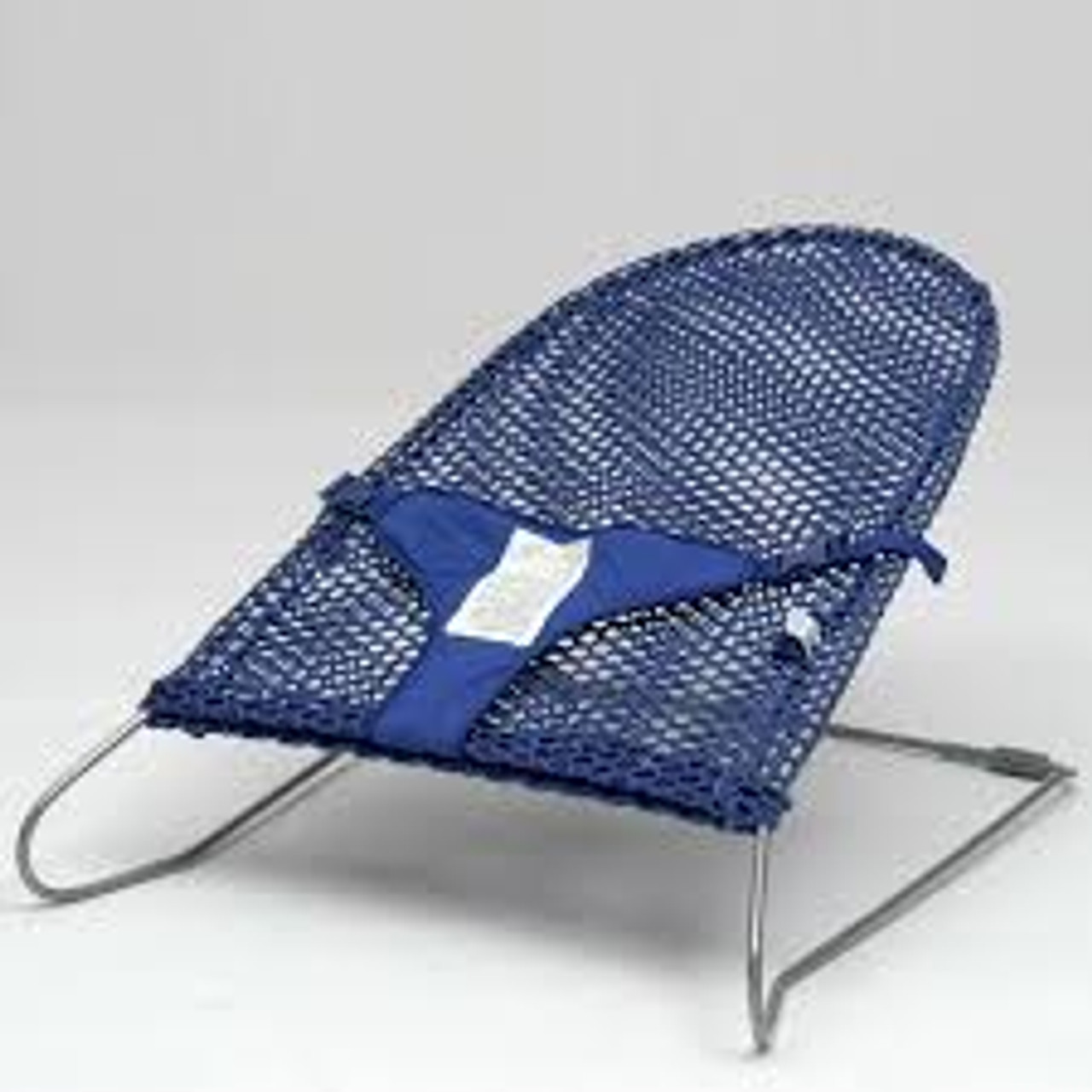 Babyhood Safety Mesh Bouncer - Navy