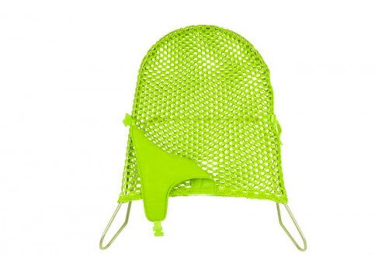 Babyhood Safety Mesh Bouncer - Lime