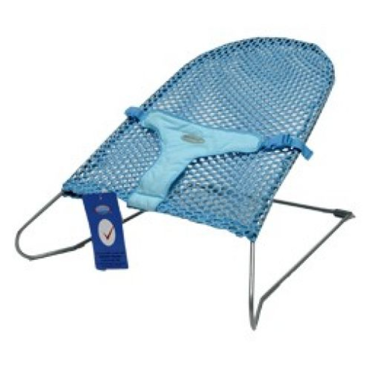 Babyhood Safety Mesh Bouncer - Turquoise