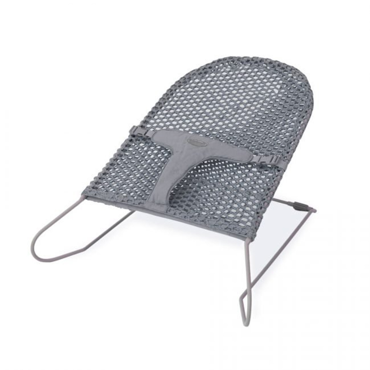 Babyhood Safety Mesh Bouncer - Grey