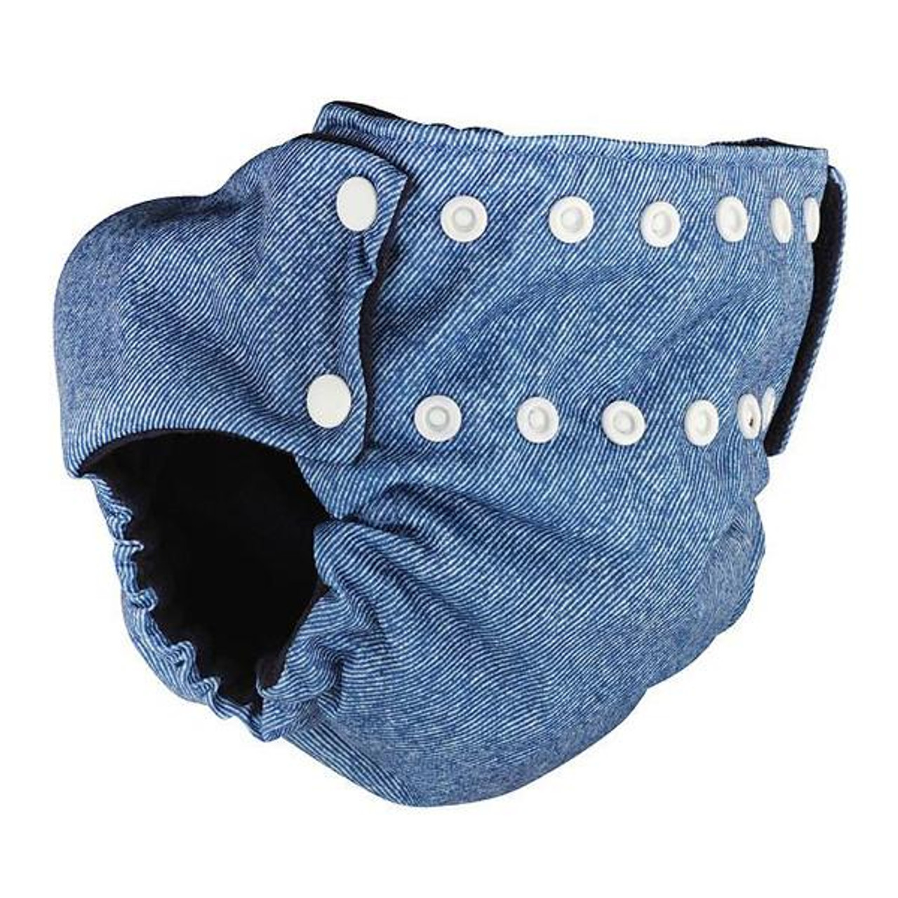 Pea Pods Modern Cloth Nappies One Size Fits Most at Baby Barn - Denim