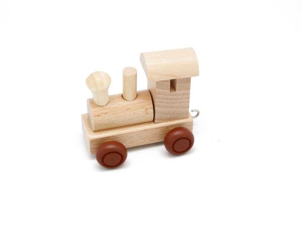 Kaper Kidz Wooden Engine Alphabet Train