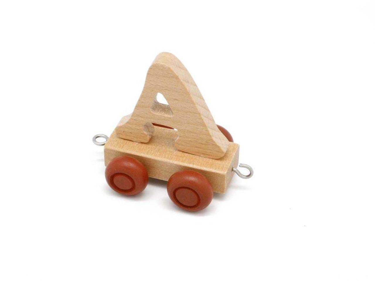 Kaper Kidz Wooden Carriage Letter A