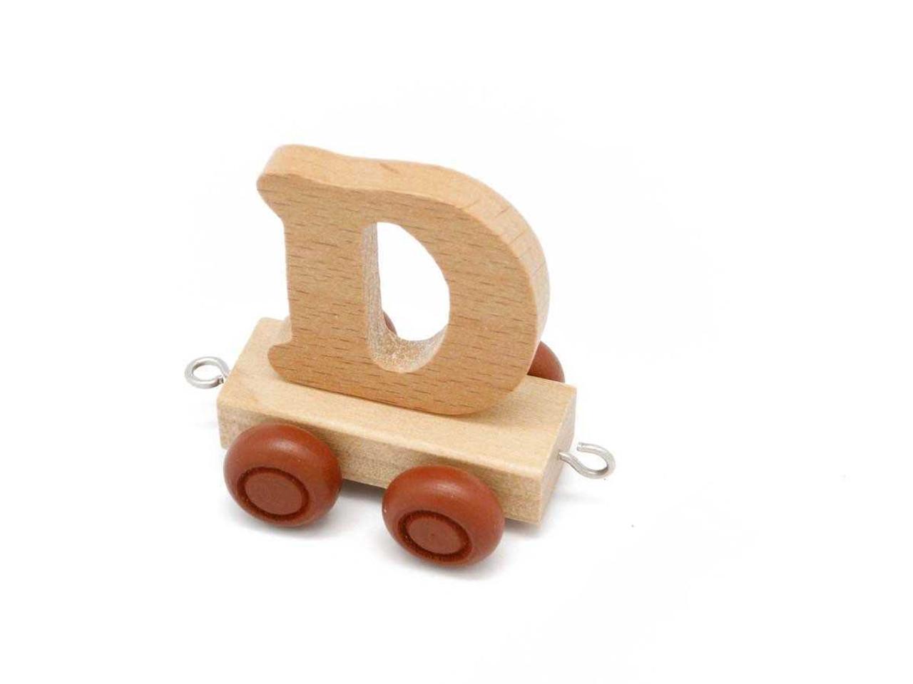 Kaper Kidz Wooden Carriage Letter D