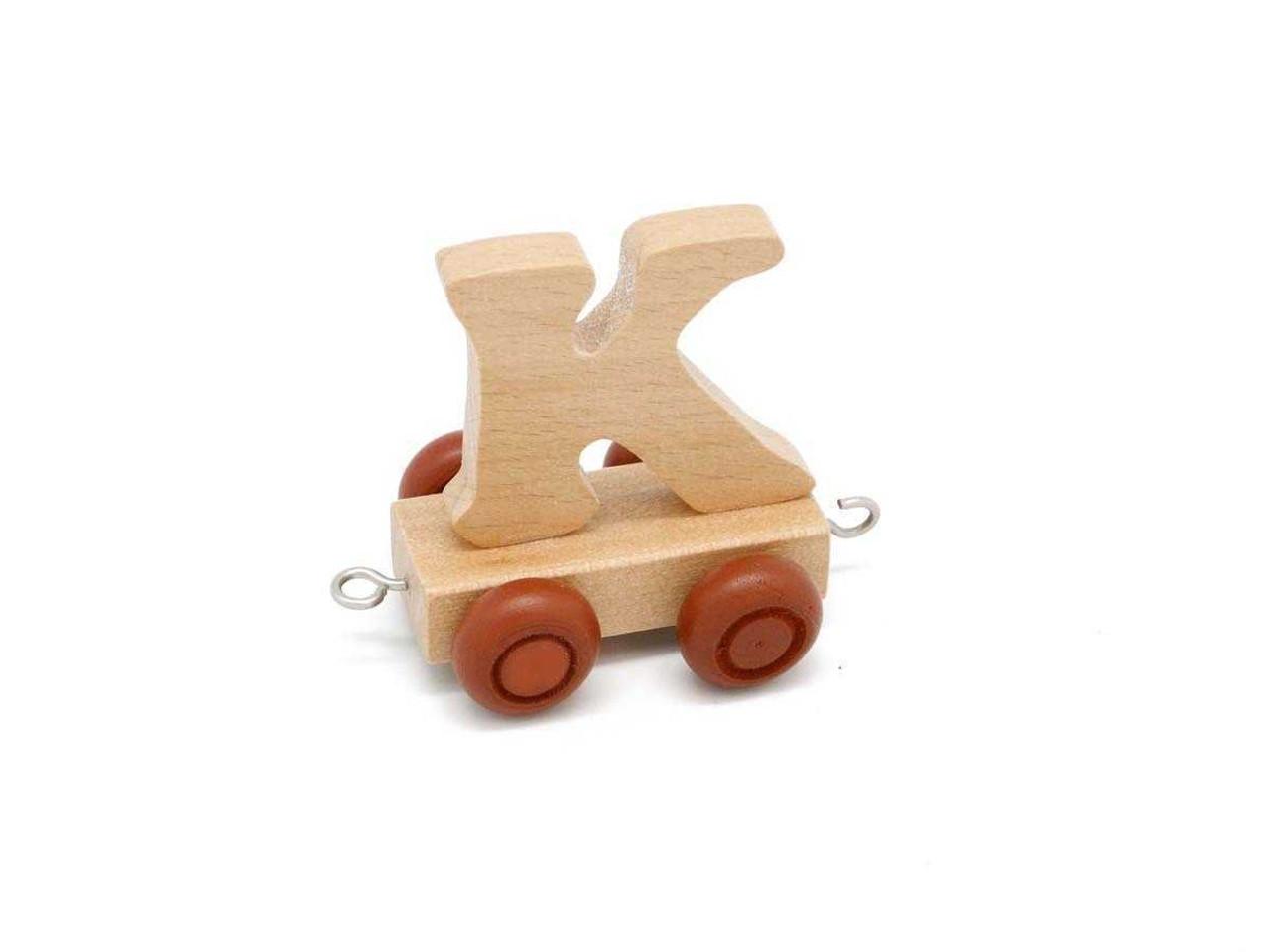 Kaper Kidz Wooden Carriage Letter K