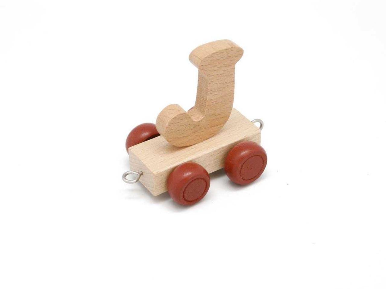Kaper Kidz Wooden Carriage Letter J