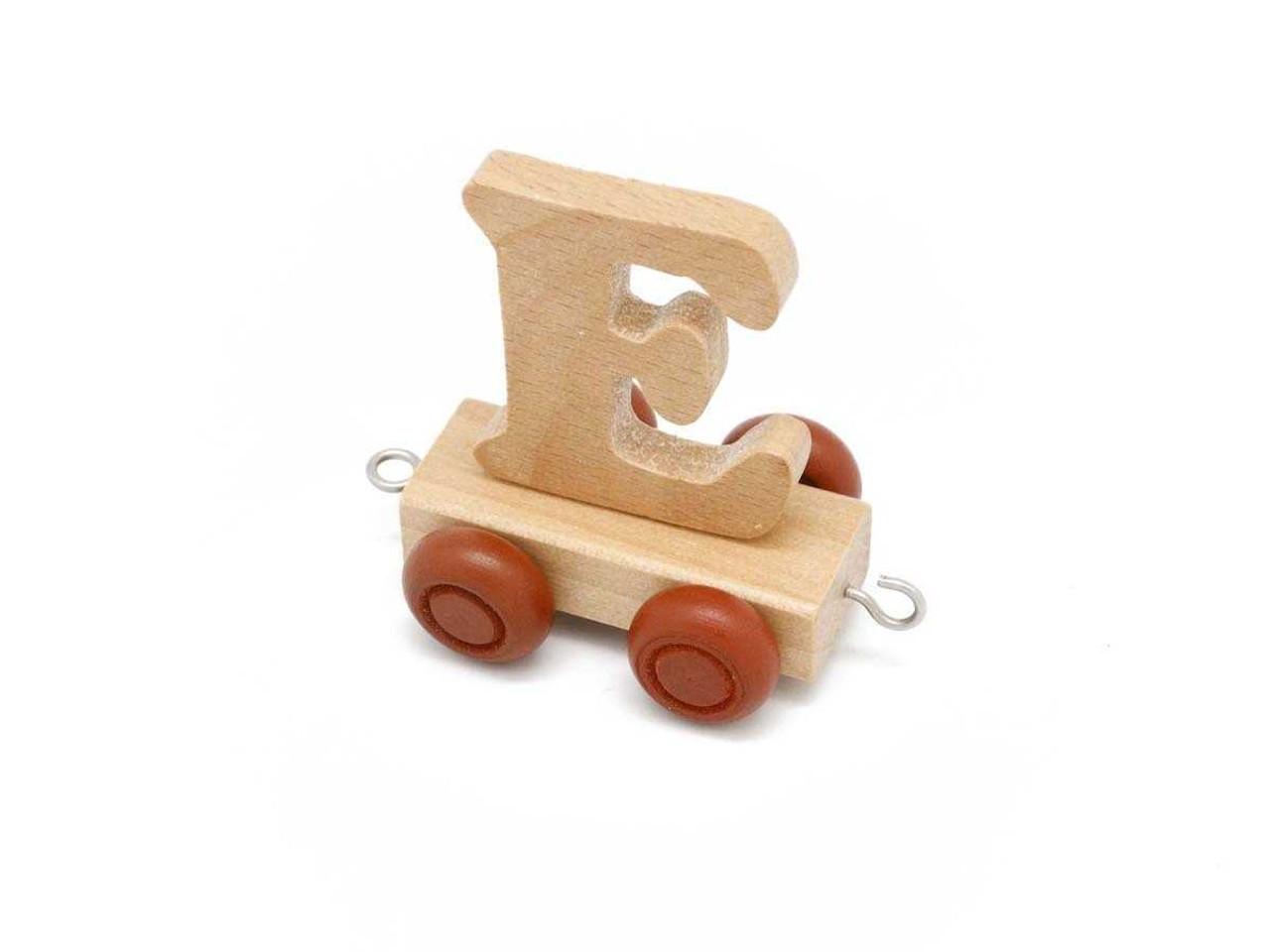 Kaper Kidz Wooden Carriage Letter E