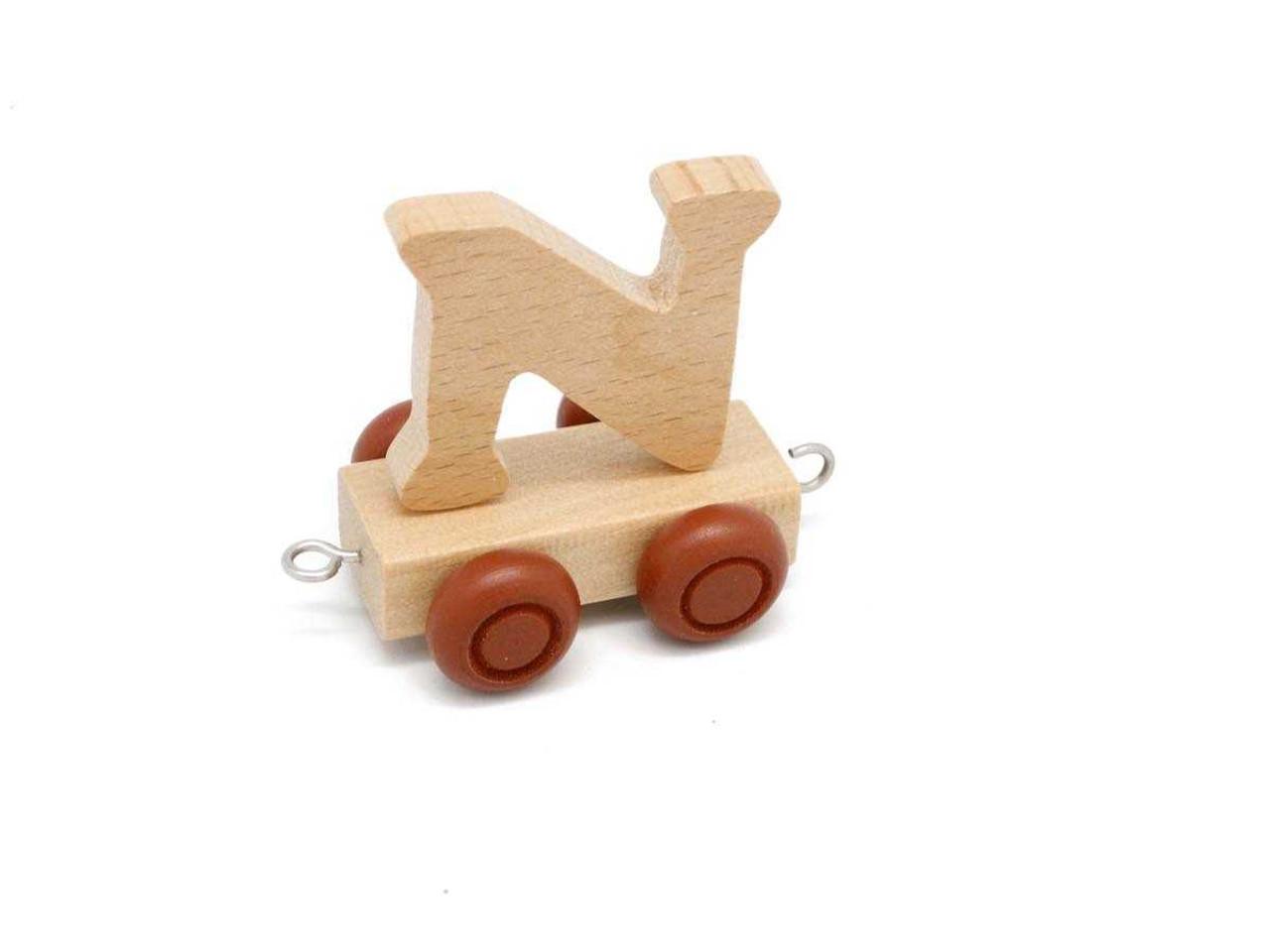 Kaper Kidz Wooden Carriage Letter  N