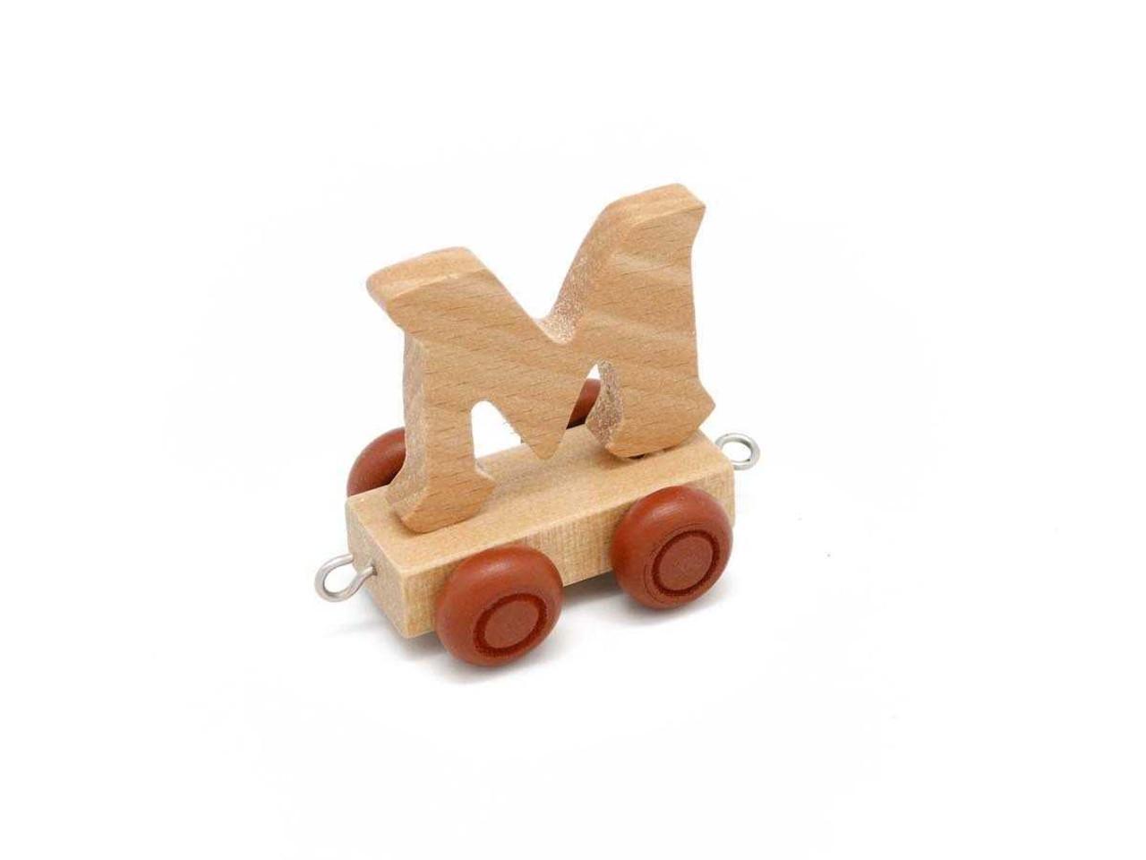 Kaper Kidz Wooden Carriage Letter M