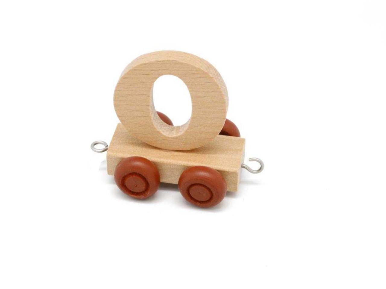 Kaper Kidz Wooden Carriage Letter O