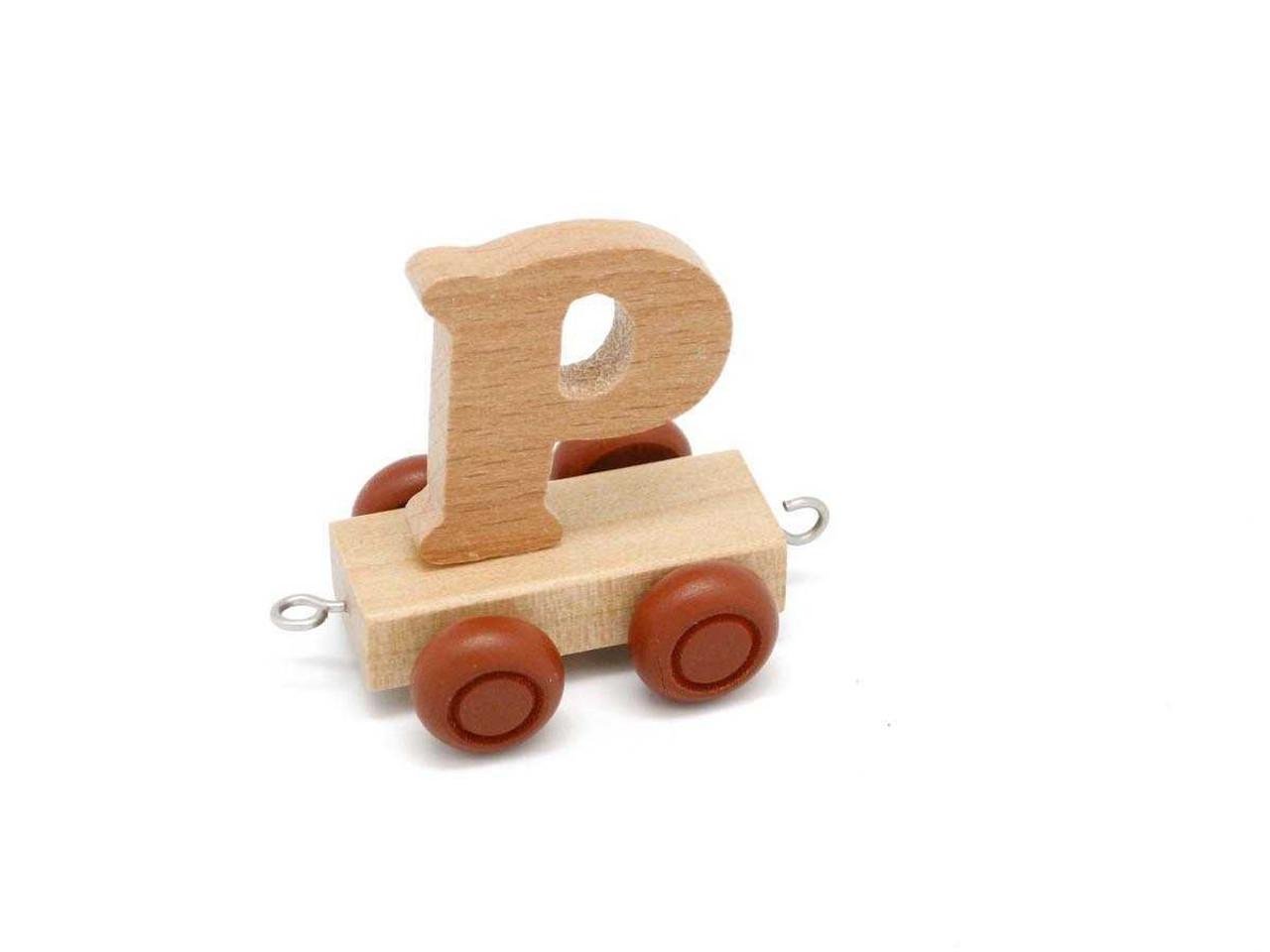 Kaper Kidz Wooden Carriage Letter P