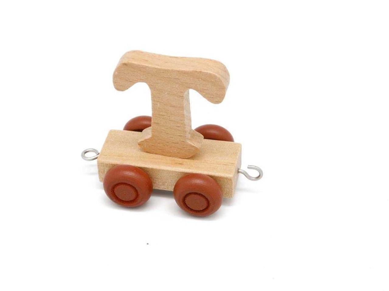 Kaper Kidz Wooden Carriage Letter T