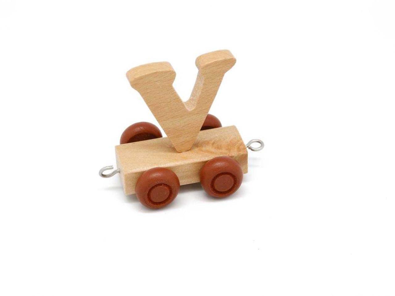 Kaper Kidz Wooden Carriage Letter V