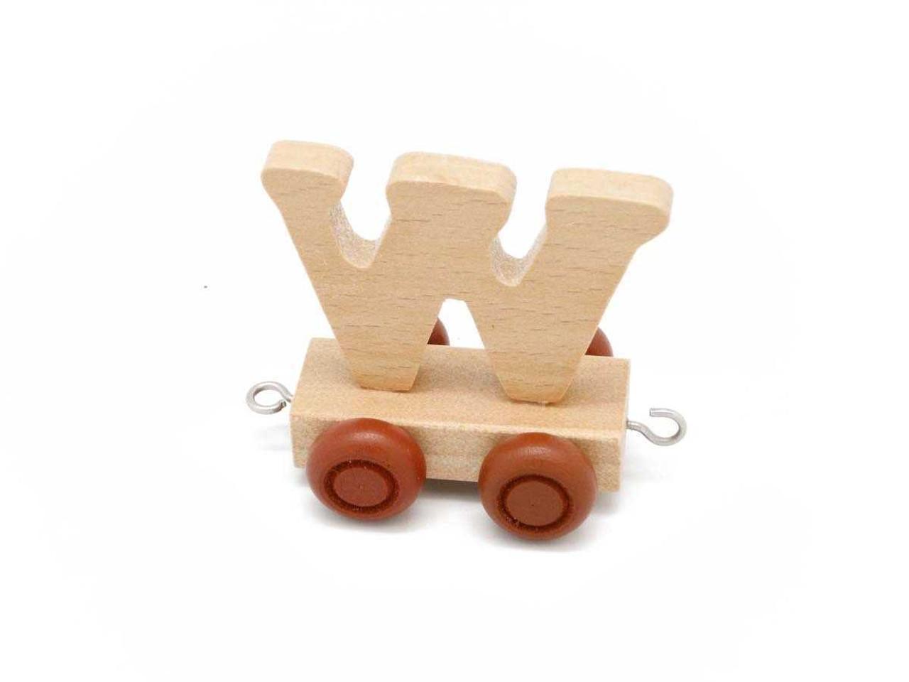Kaper Kidz Wooden Carriage Letter W