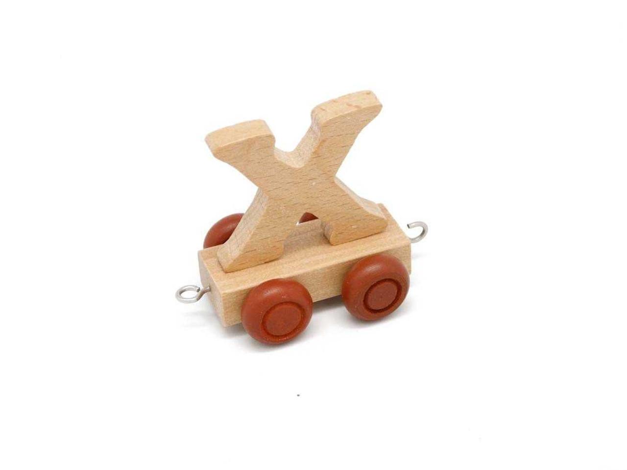 Kaper Kidz Wooden Carriage Letter X