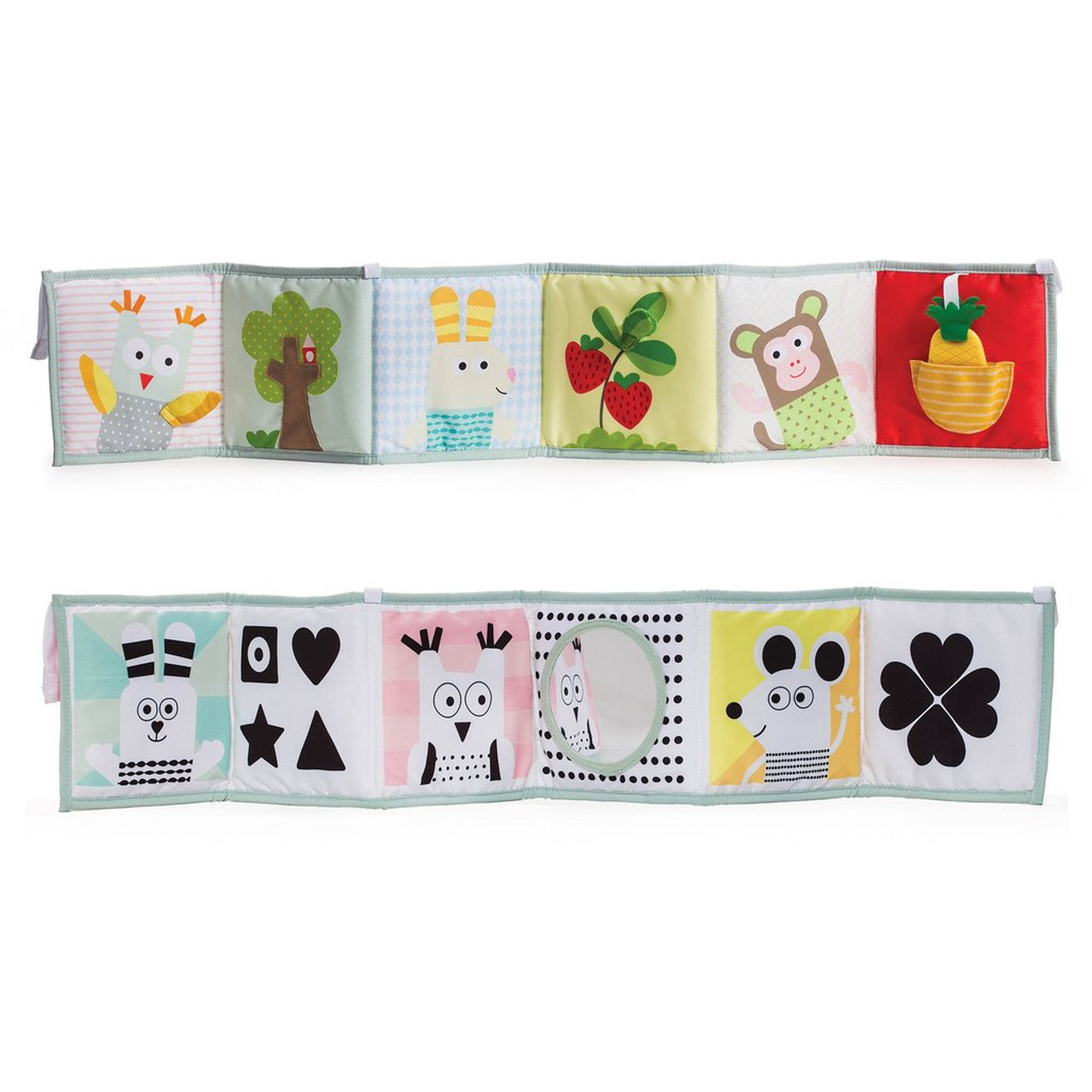 Taf Toys 3 in 1 Soft Baby Book