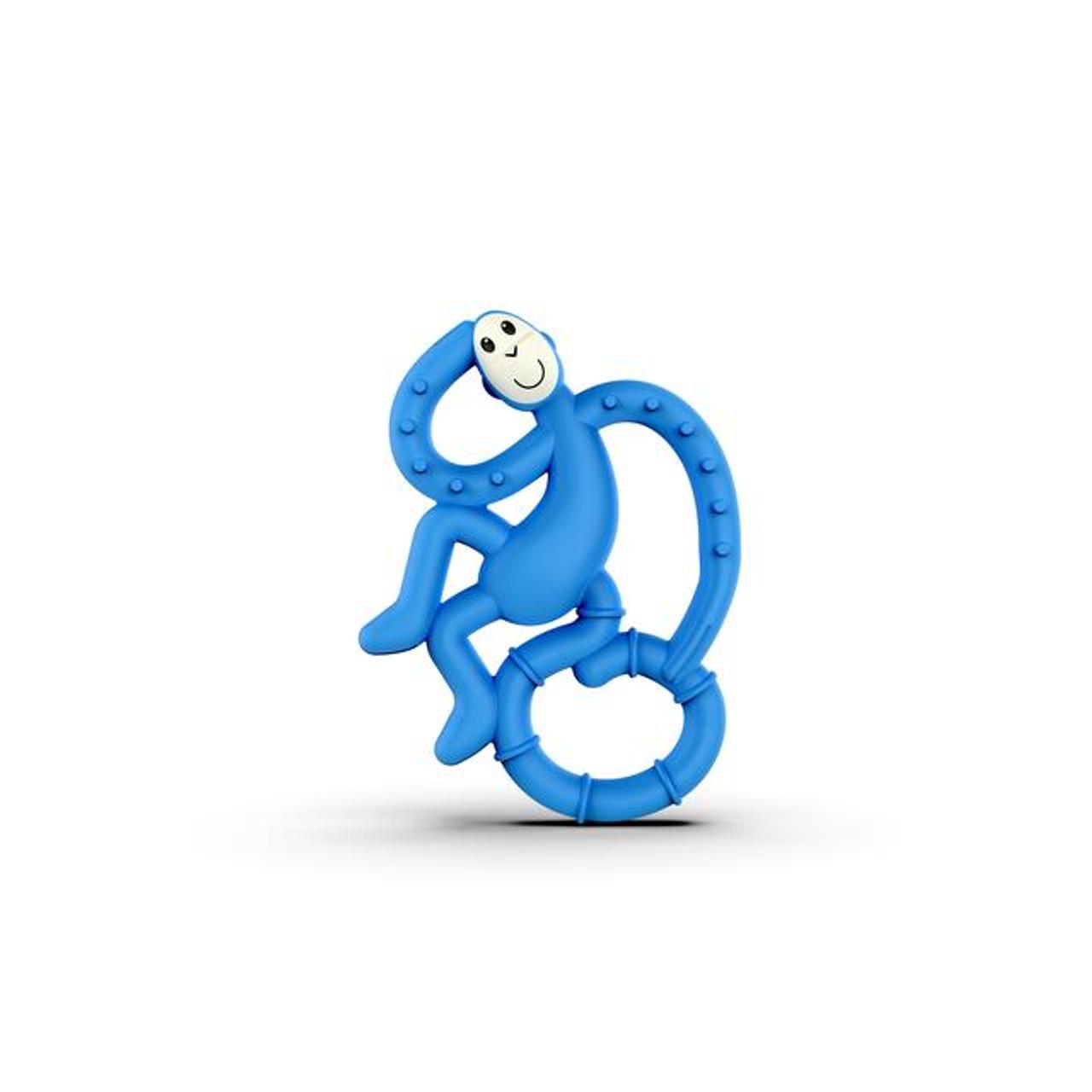 Matchstick Monkey Dancing Teether - BLUE