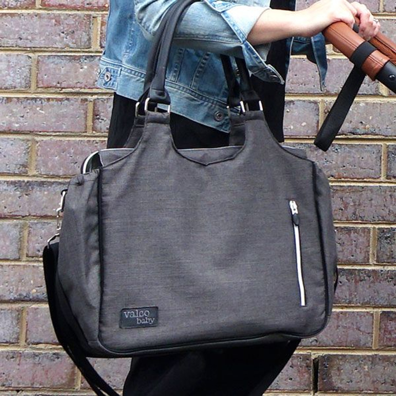Valco Baby Mothers/ Nappy Bag - CHARCOAL