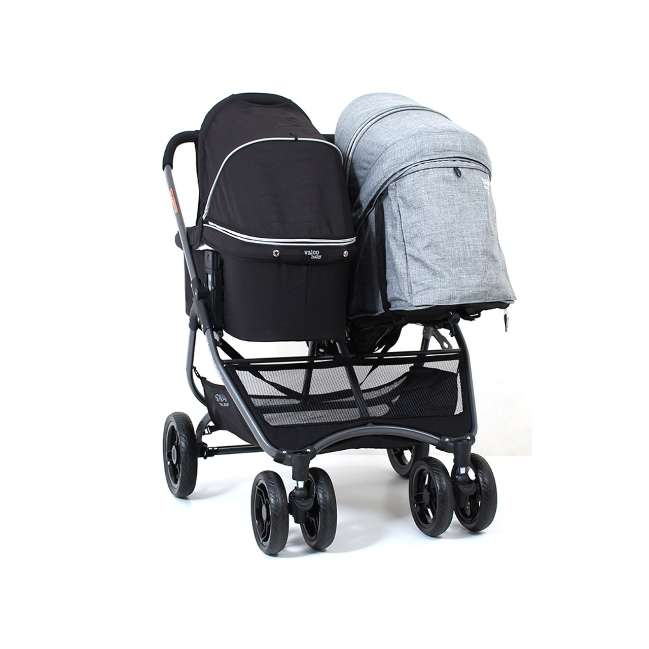 SAMPLE- Valco Baby Snap Ultra Duo Grey Marle - Bassinet sold separately