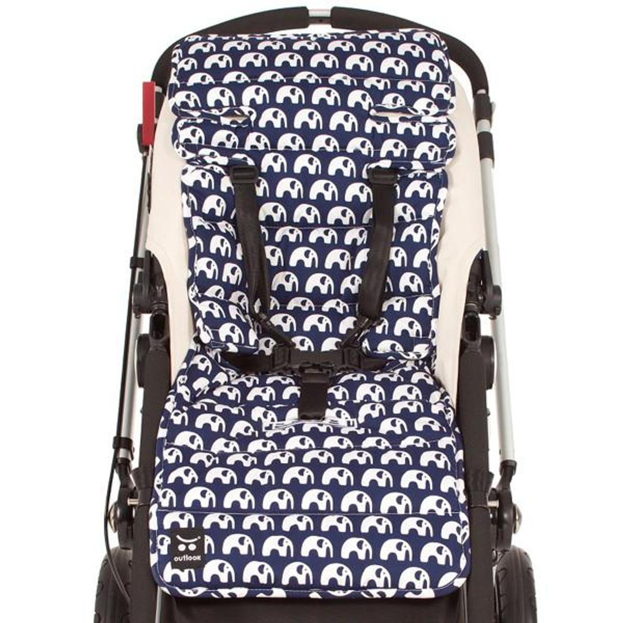 Outlook Pram Liner - BLUE ELEPHANT