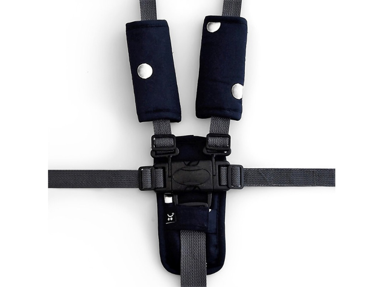 Outlook Get Foiled Pram Harness Cover Set - BLACK