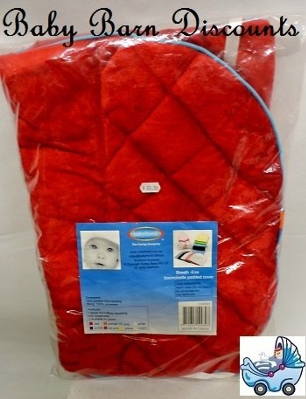 Babyhood Padded Bouncer Cover - RED