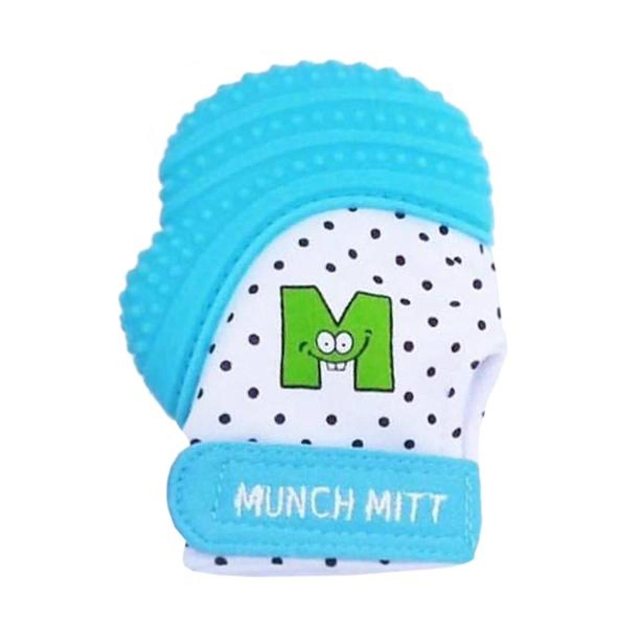 Malarkey Kids Munch Mitten - AQUA BLUE