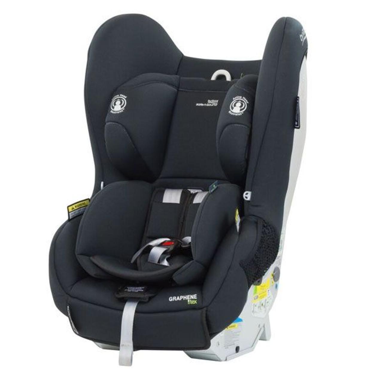 Britax Safe n Sound GrapheneTEX Convertible Car Seat ISOFIX Black