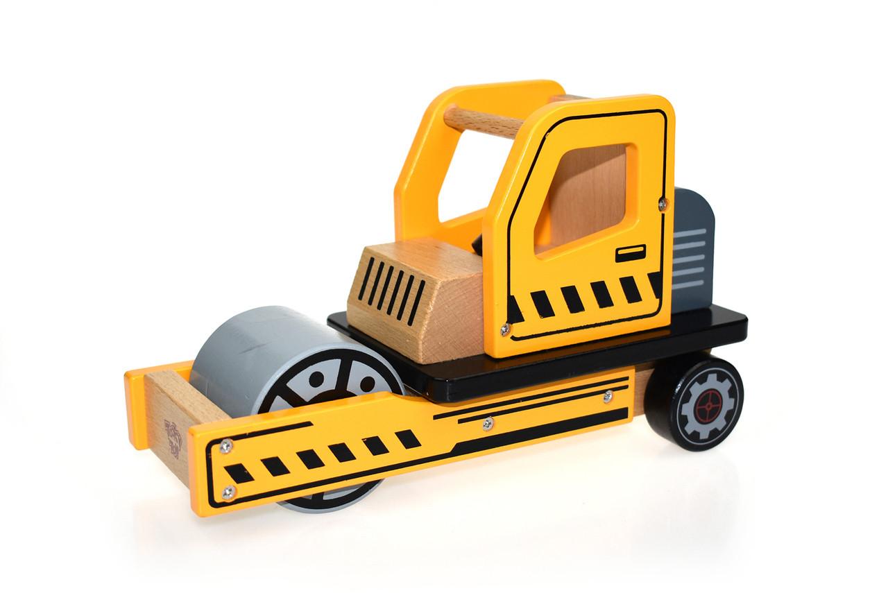 Tooky Toy Wooden Road Roller