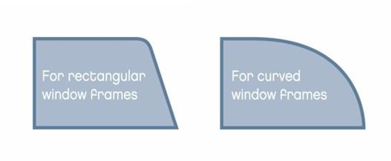 Round or Square windows