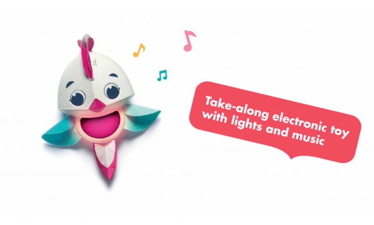 Take along electronic toy