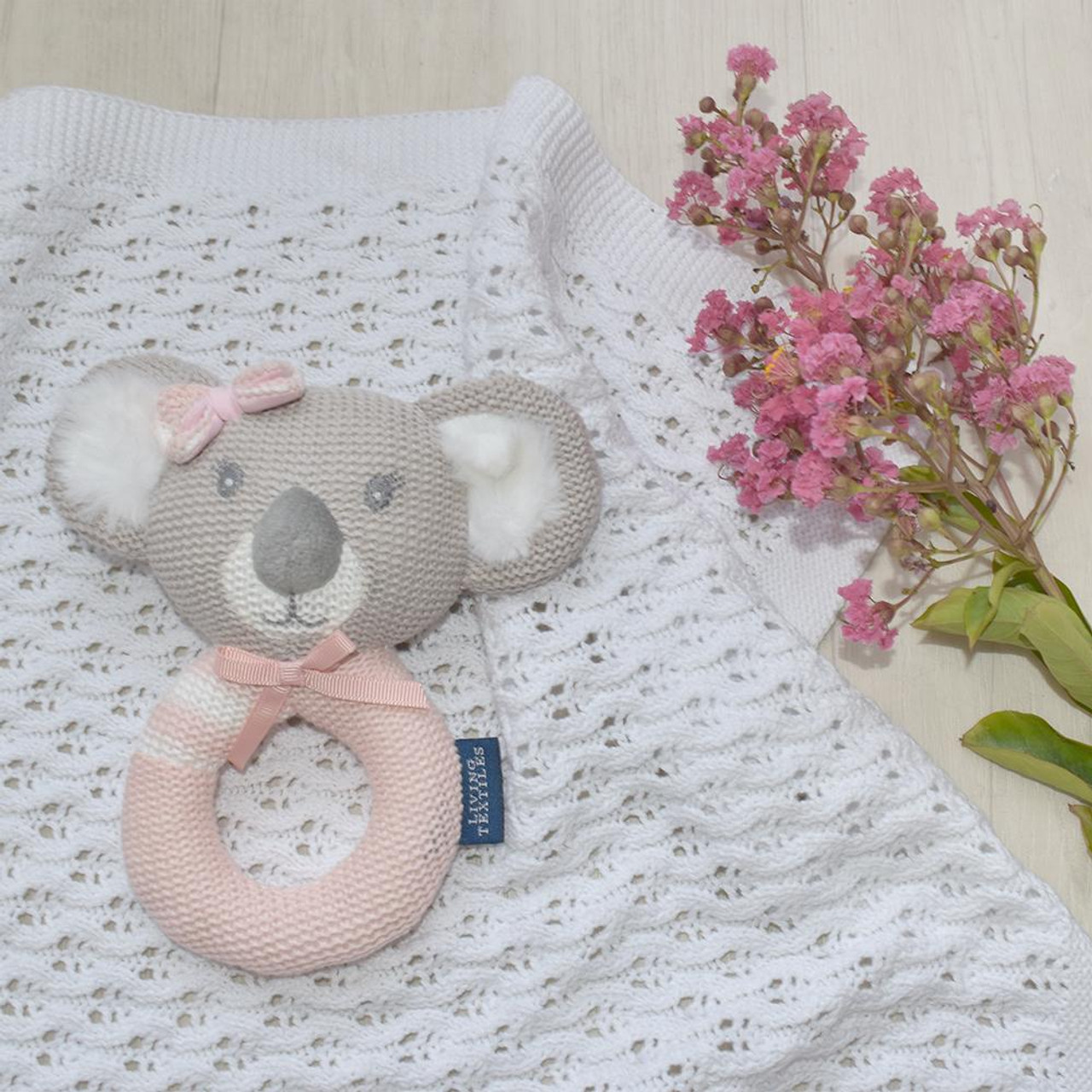 Living Textiles Knitted Rattle
