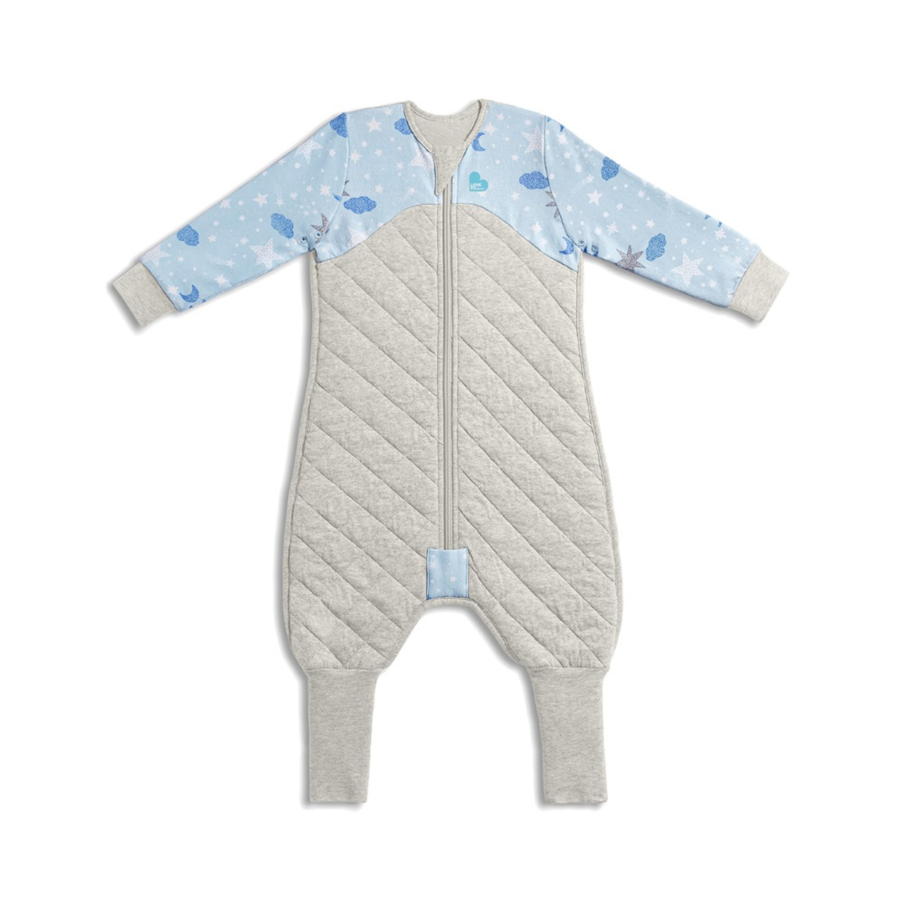 Love To Dream Child Sleep Suit 2.5 TOG Onesie Style Sleeping Bag with Legs and Convertible Feet Pink Size 2-24-36 Months