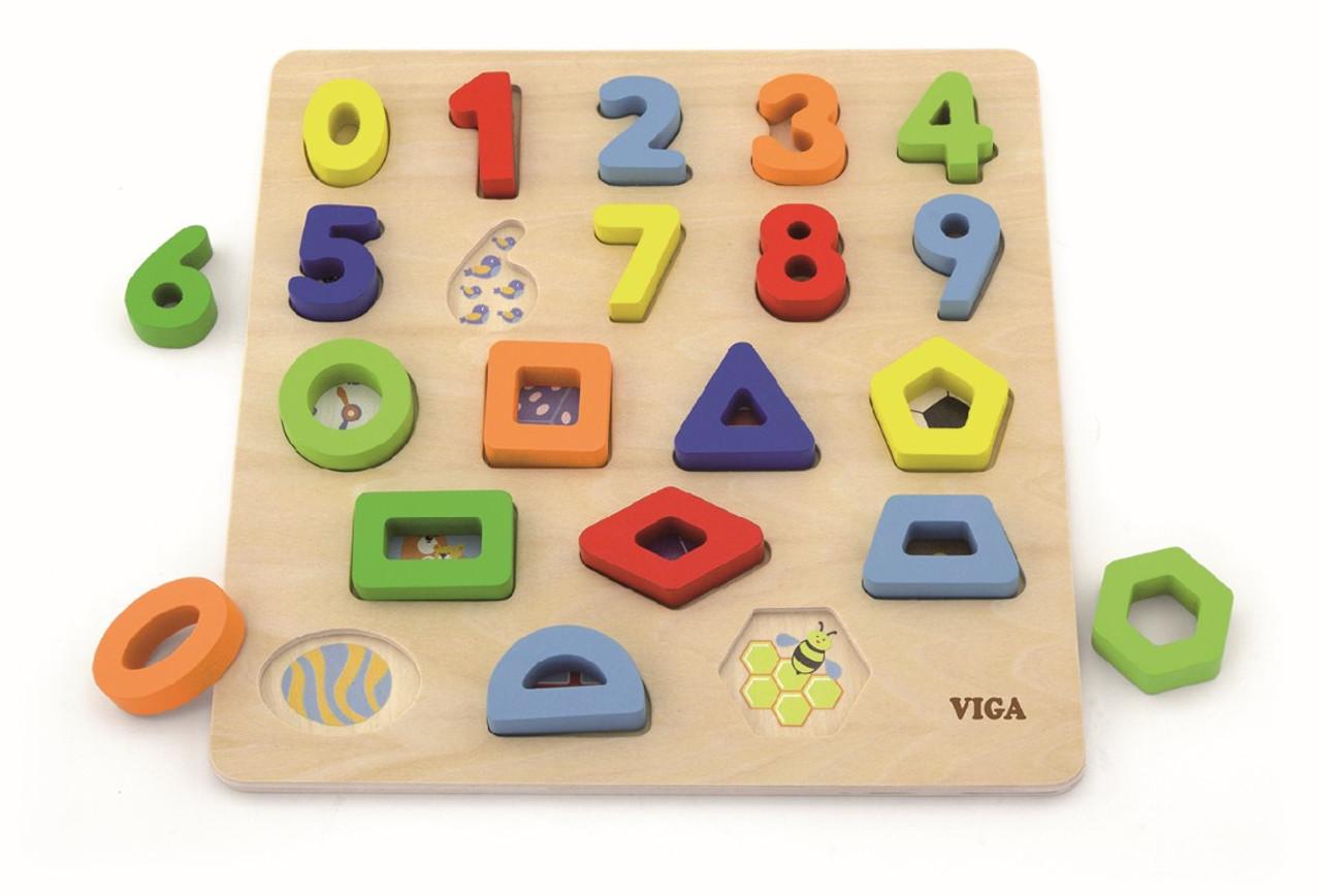 Viga Block Puzzle Numbers & Shapes