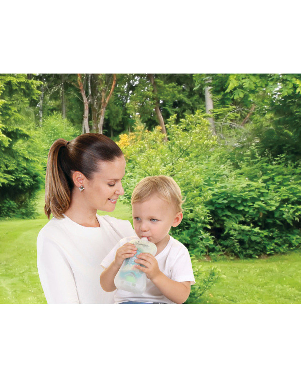 Dreambaby no mess drinking pouch for newborns